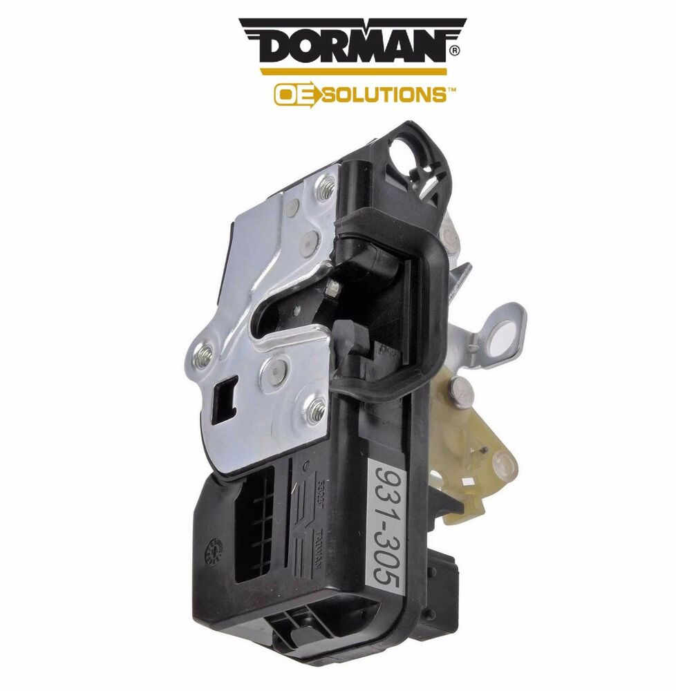Chevrolet impala 06 11 front right 12v door lock actuator for 12v door latch