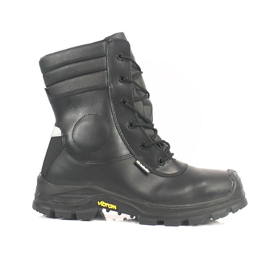 62a12adc219ad2 Details about Jallatte Jalarcher Safety Boots with Composite Toe Caps &  Midsole Side Zip M