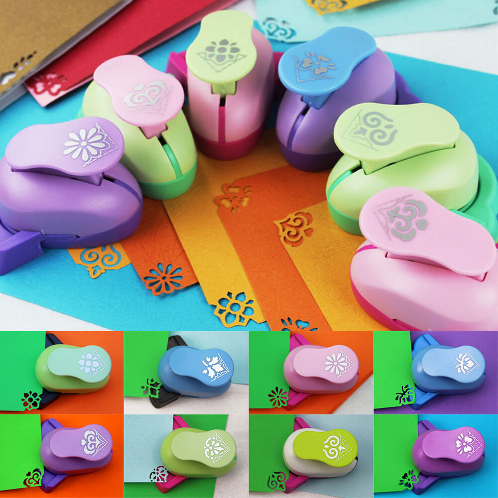 handmade mini hole punch paper craft shape cutter