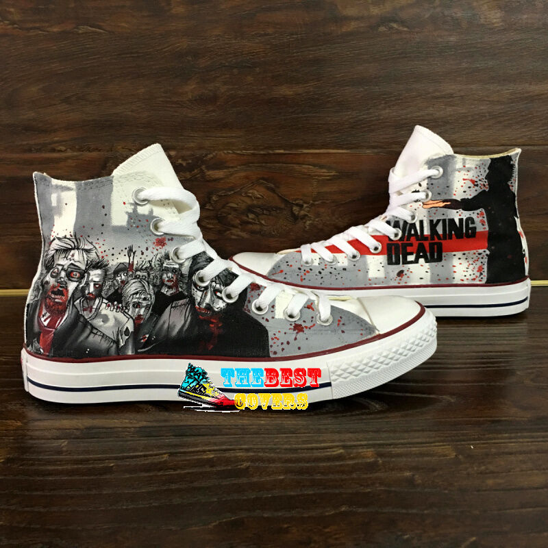 The Walking Dead Shoes Converse