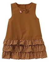 NWT 0-3 Months Gymboree TEENIE WEENIE PUPPIES Dot Jumper Dress