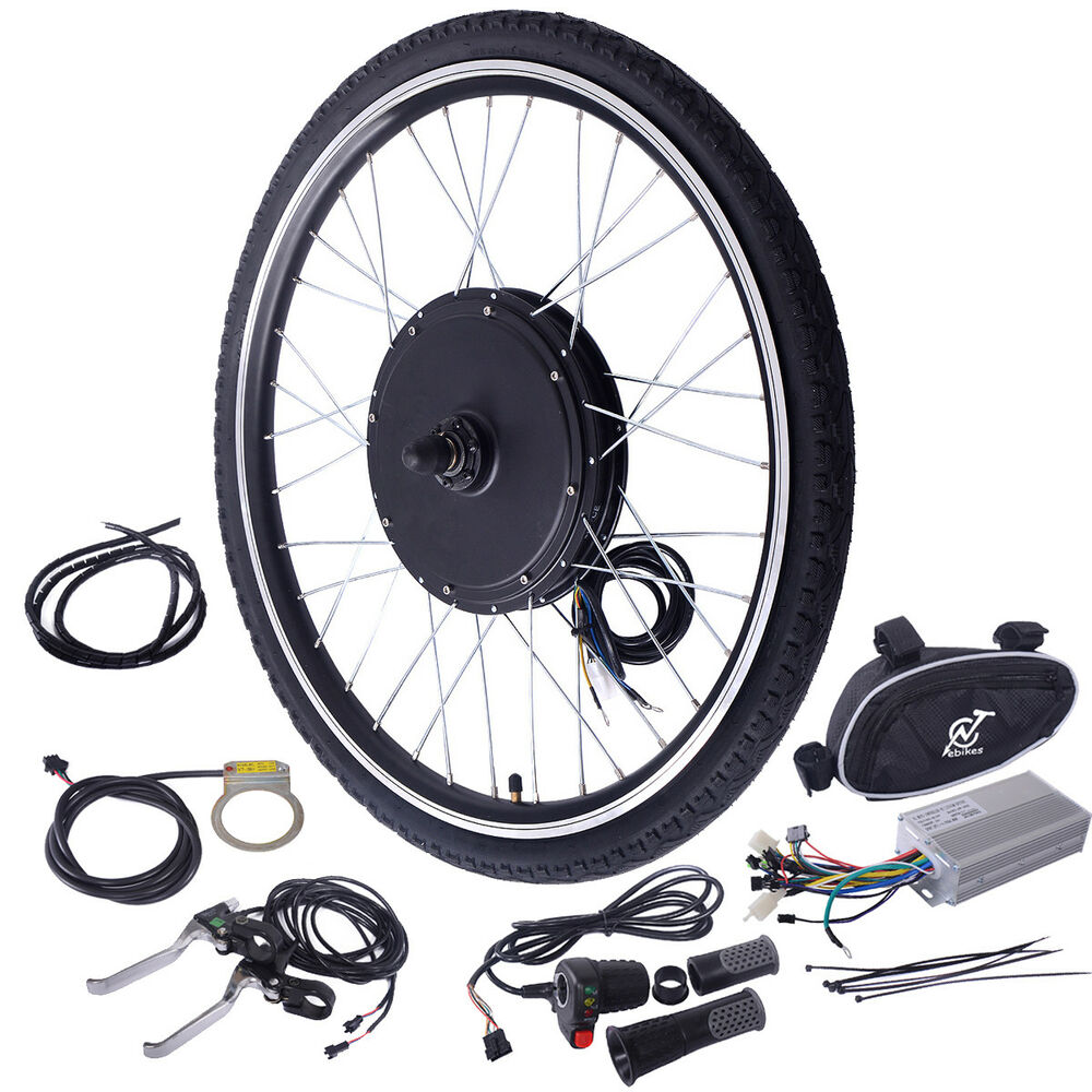 26 48v 1000w Ebike Front Wheel Electric Bicycle Motor