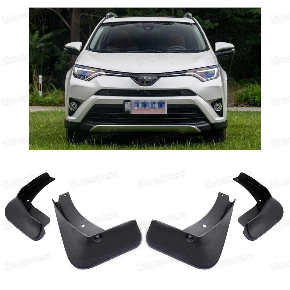 4x Car Mud Flaps Splash Guard Mudguard Fender For 2016
