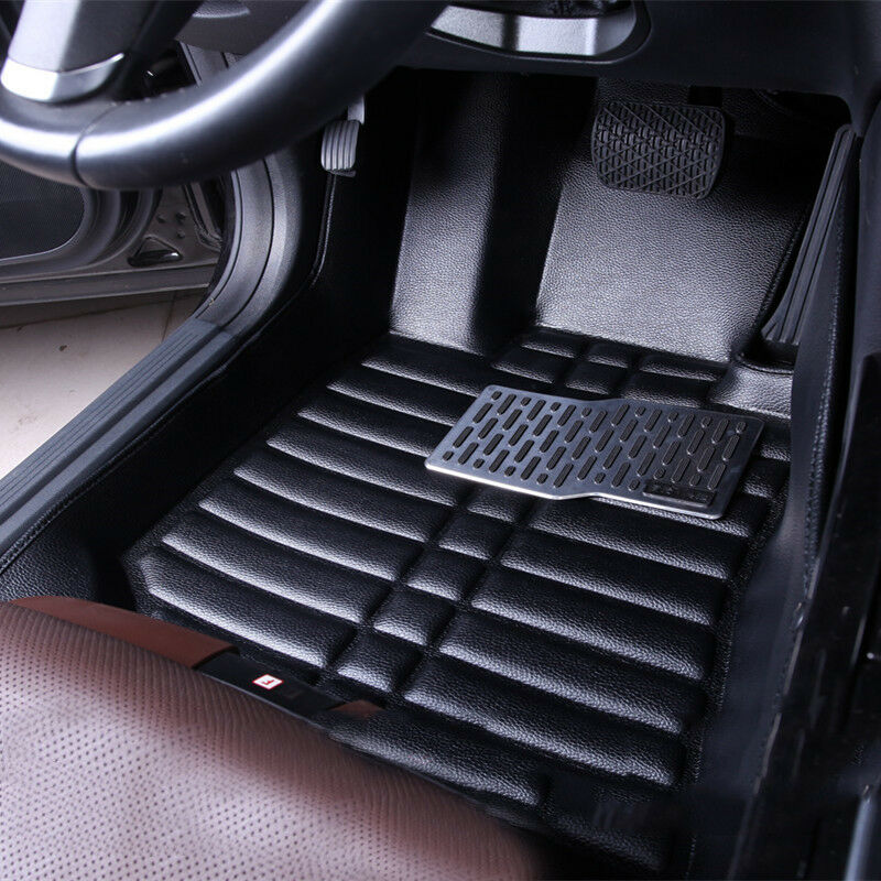 car floor mats front rear liner waterproof mat for hyundai sonata 2014 2016 ebay. Black Bedroom Furniture Sets. Home Design Ideas