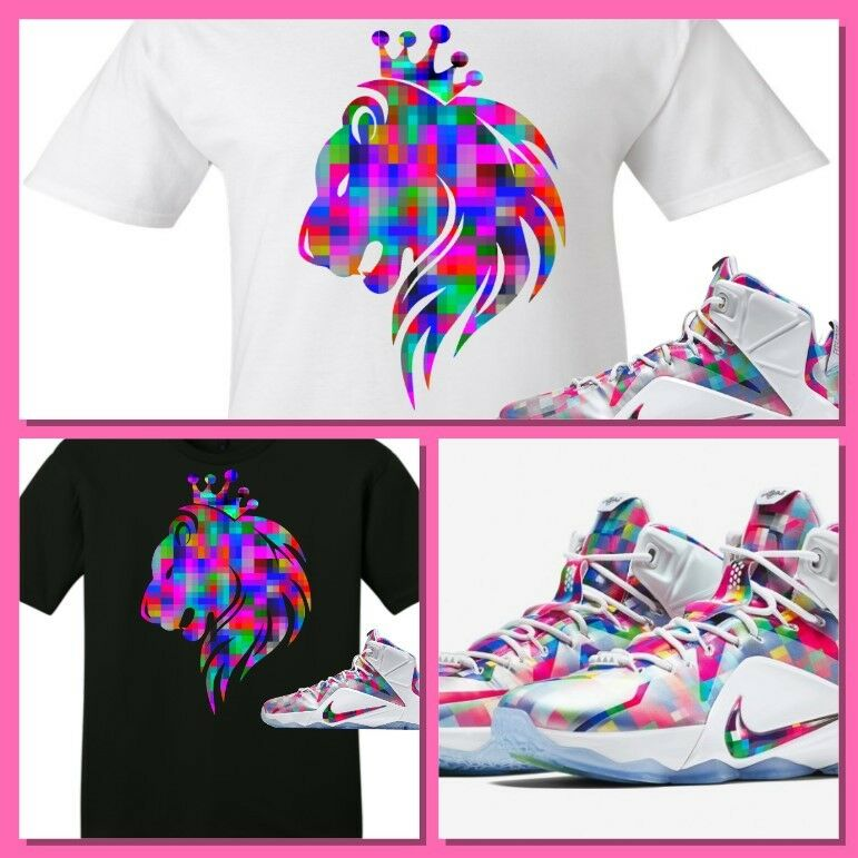 uk availability 5928d 8c663 Details about EXCLUSIVE TEE SHIRT to match the NIKE LEBRON XII 12 FINISH  YOUR BREAKFAST