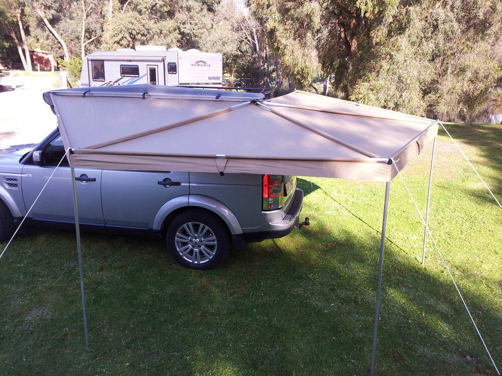 New Wing Awning 2 5 M Long Rip Stop Skywing Batwing Roof
