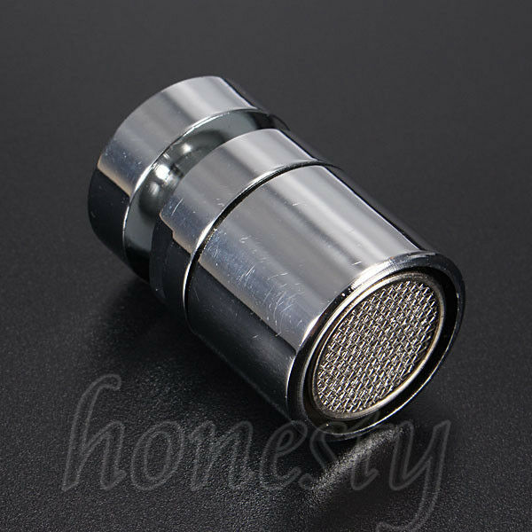 Swivel Aerator For Kitchen Faucet: Chromed 22mm Swivel Water Saving Tap Aerator Faucet Nozzle