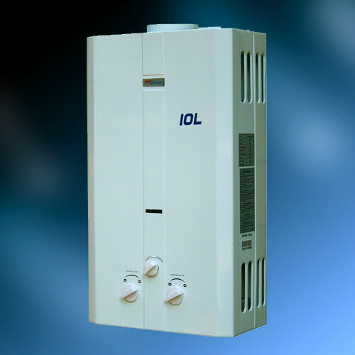 New Instant On Demand Natural Gas Tankless Water Heater 2