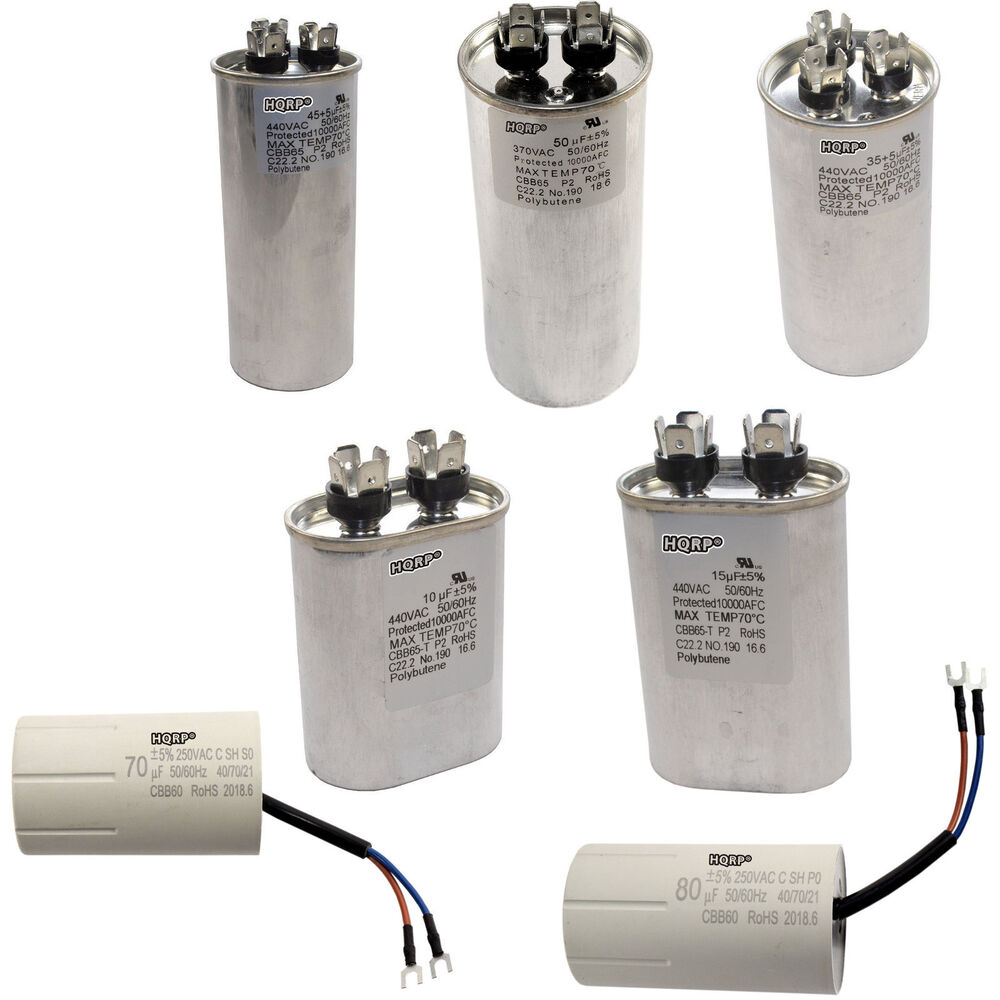 370 440v Capacitors Cbb65 Ac Electric Motor Start Hvac