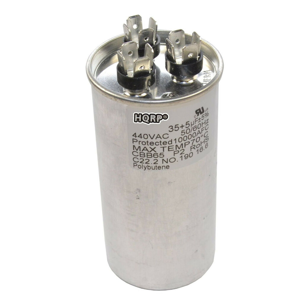 35uf 5uf Dual Run Capacitor Cbb65 Ac Electric Motor Start