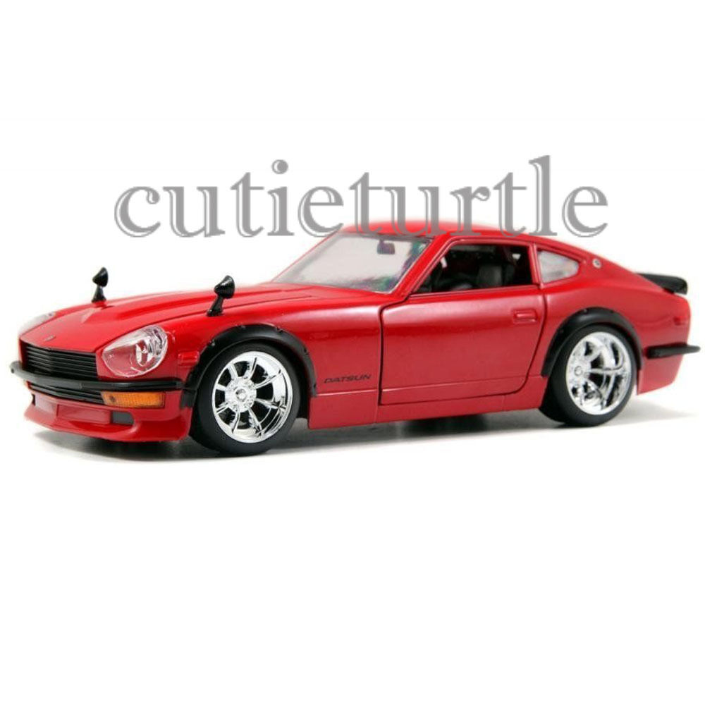 jada 1972 nissan datsun 240 z 1 24 diecast model car 92090. Black Bedroom Furniture Sets. Home Design Ideas