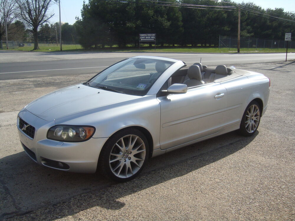 2007 volvo c70 t5 convertible clear title runs great ebay. Black Bedroom Furniture Sets. Home Design Ideas
