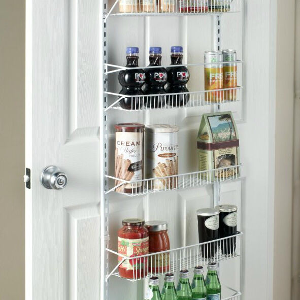 Wide 18 Quot Adjustable 8 Shelf Over The Door Pantry Closet