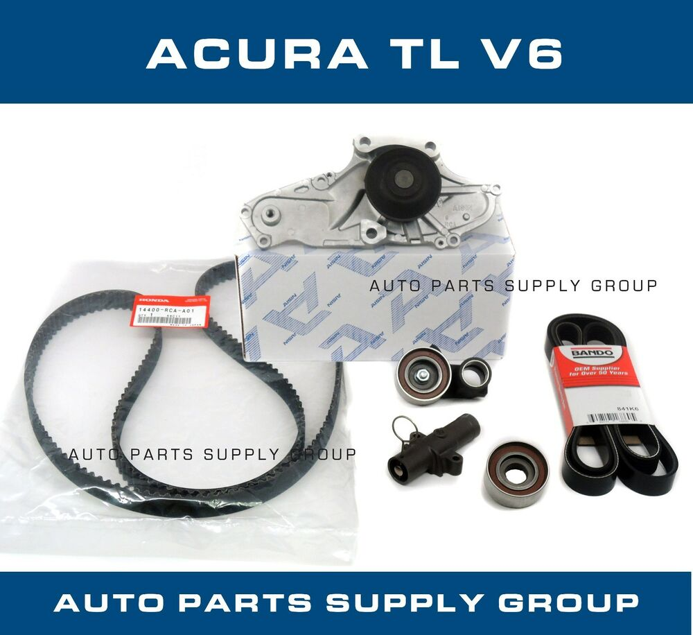 Genuine / Aisin Timing Belt & Water Pump Kit Acura TL V6