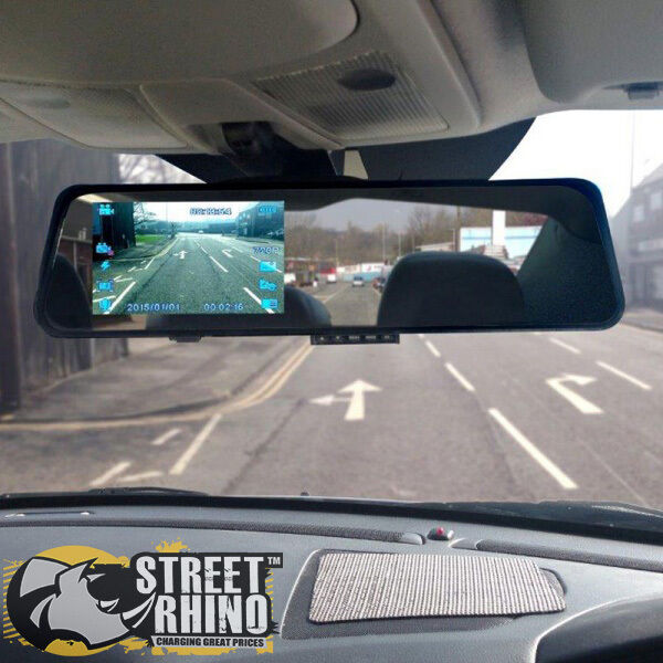 Ford Transit Connect Rear View Mirror G Shock Hd Dash Cam