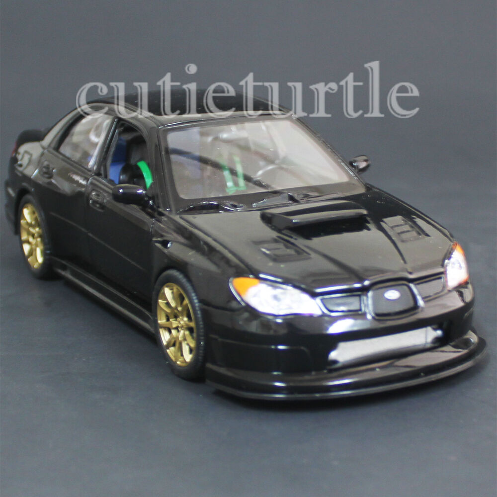 Welly 22487 2005 Subaru Impreza Wrx Sti 1:24 Diecast Model