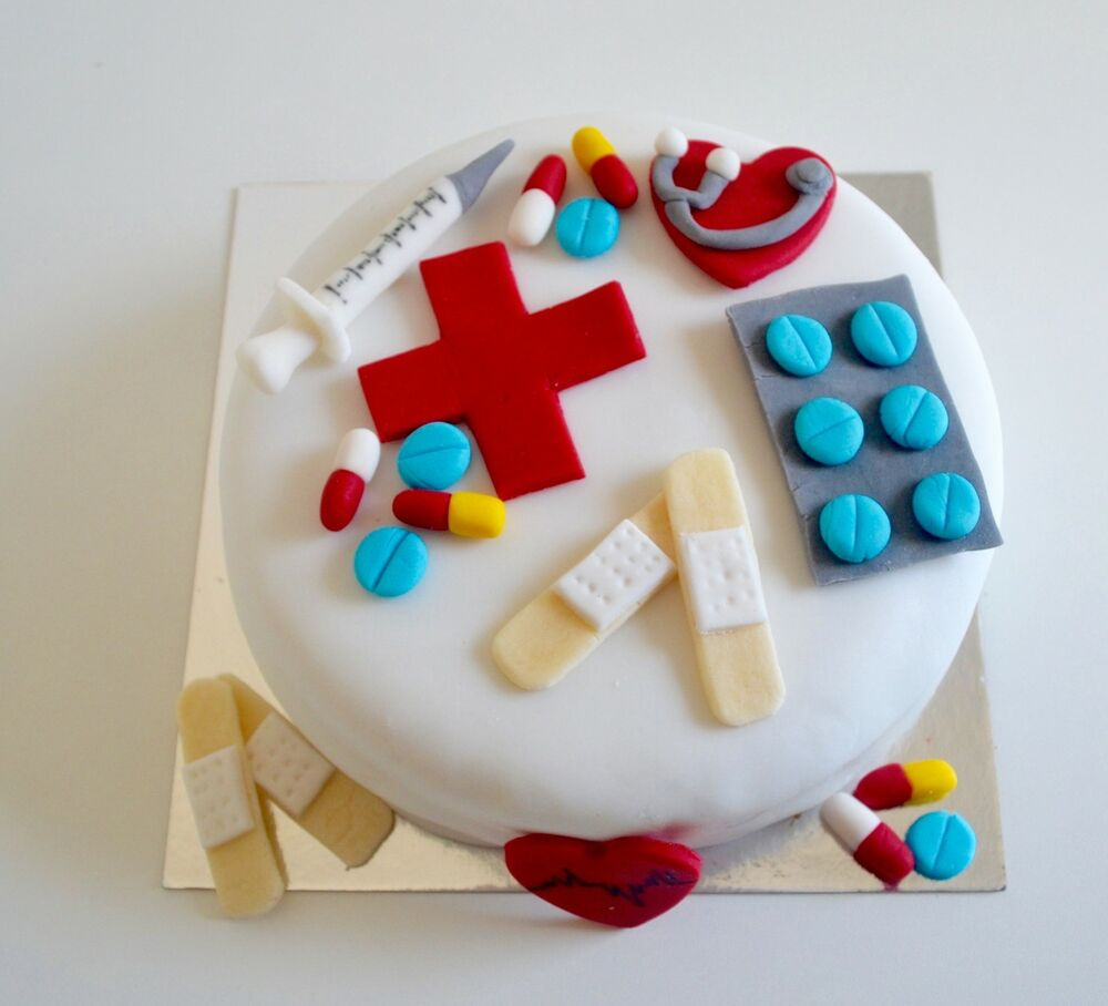 edible cake decorations edible doctor hospital cake toppers birthday 3819