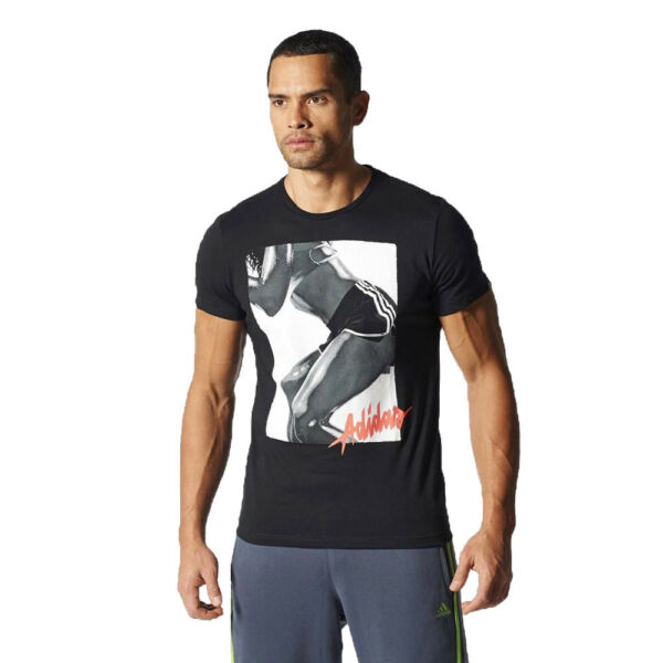 55a73e214474a Adidas Workout Girl T-shirt Men's Sports Tee Thermoactive Training ClimaLite