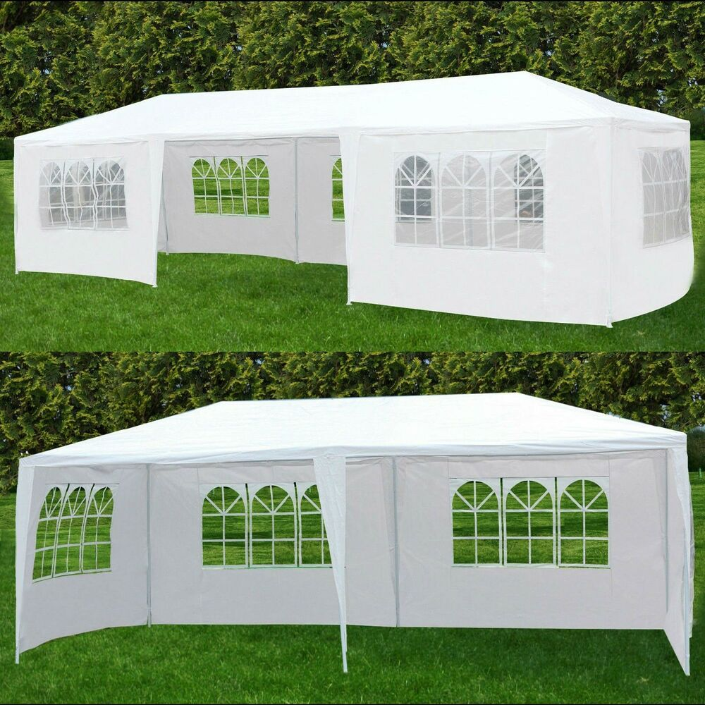 1039x3039 party wedding tent outdoor canopy heavy duty for Garden tents