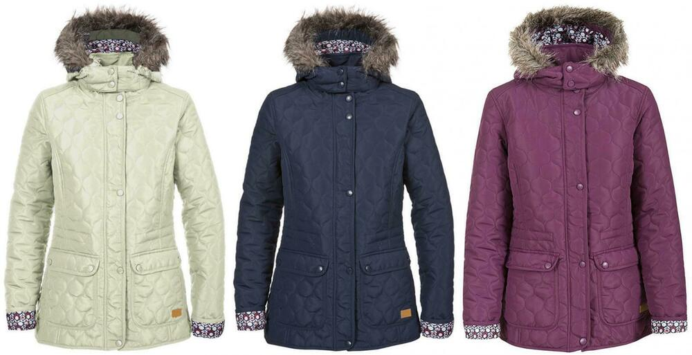 c46ab8ae18b6b Details about Trespass Jenna Ladies Padded Jacket