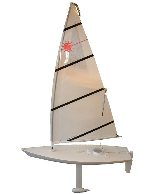 Radio Controlled Laser 42 Quot Sailboat Ready To Sail With