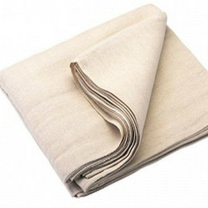 100 Cotton Stair Dust Sheet 24ft X 3ft For Decorating