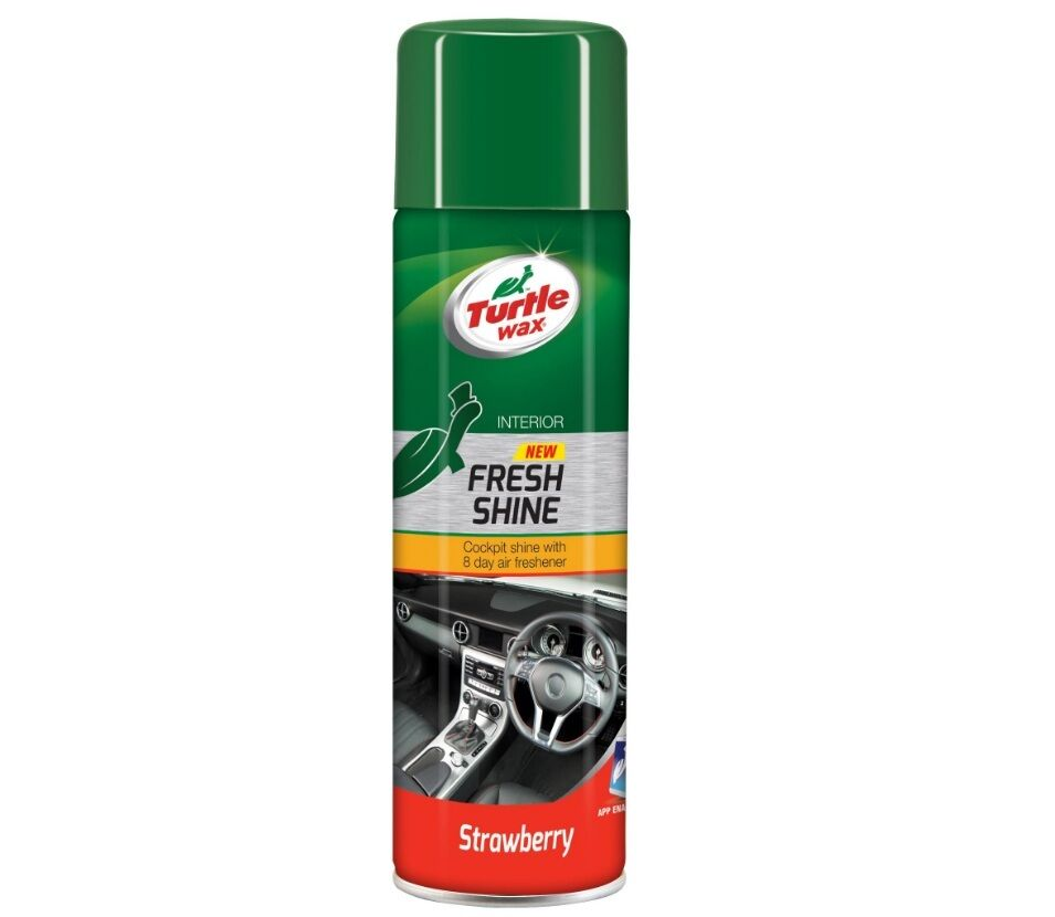 turtle wax car dashboard cleaner trim cockpit shine spray strawberry 500ml ebay. Black Bedroom Furniture Sets. Home Design Ideas