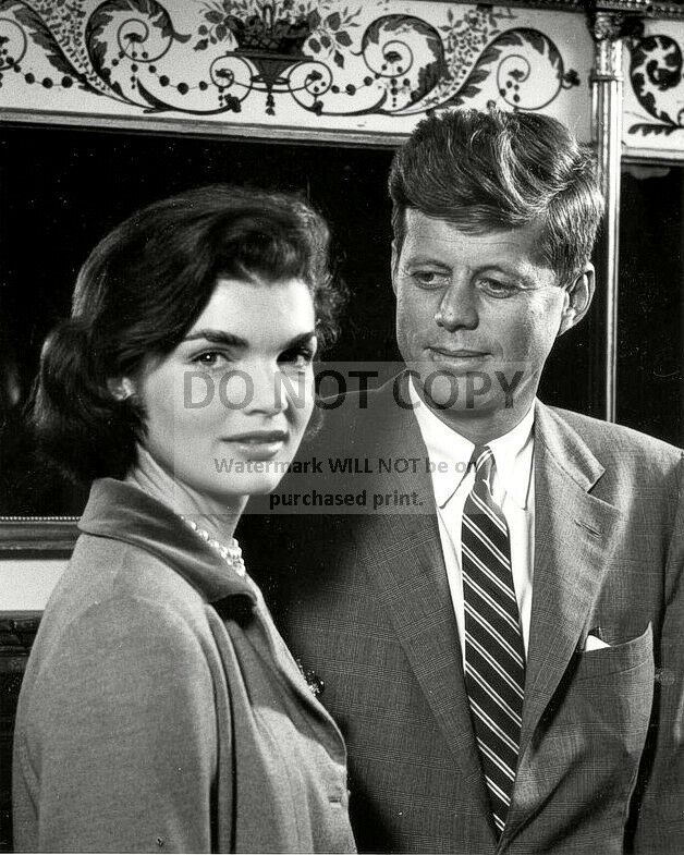 "John And Jackie Kennedy: JOHN F. KENNEDY AND WIFE JACQUELINE ""JACKIE"" IN 1955"