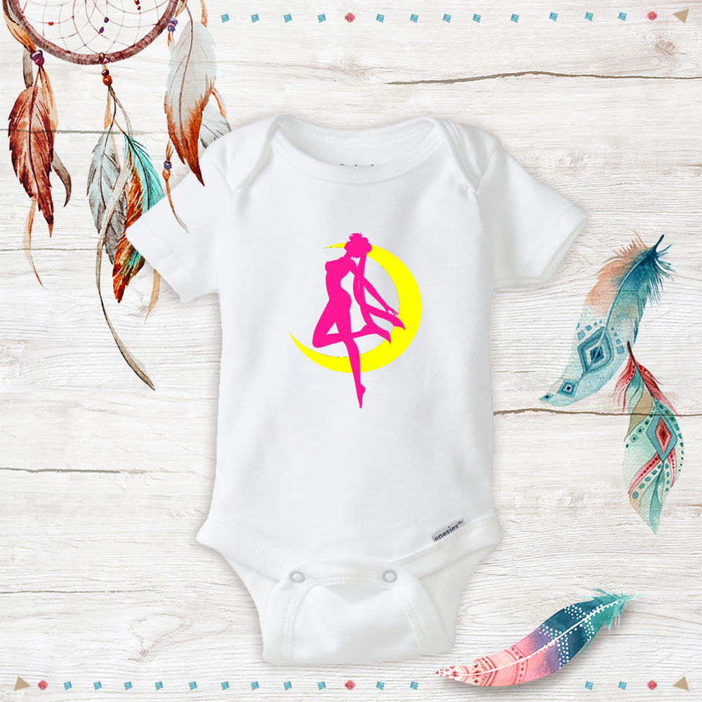 Details about baby sailor moon onesies costume newborn baby girl clothes geeky nerdy anime