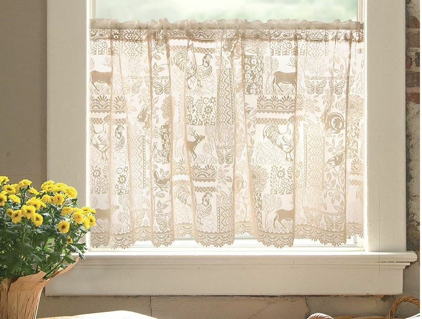 Cafe Woodland Patch Nature Country Lace Wilderness Window
