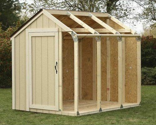 Outdoor Storage Shed Diy Building Kit Garden Utility