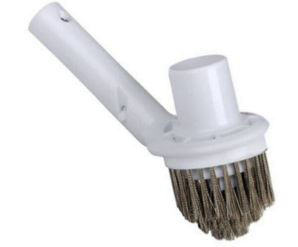 Pool Spa Corner Vacuum Combo Vac Brush W Stainless Steel