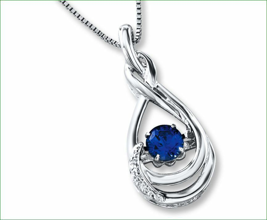 Colors in Rhythm Lab-Created Sapphire Sterling Silver ...