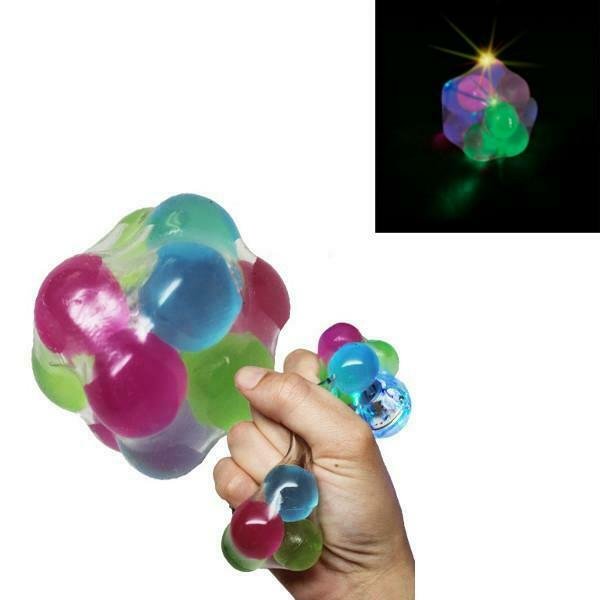 Toy For Adhd People : Light up molecule stress ball sensory squeeze occupational