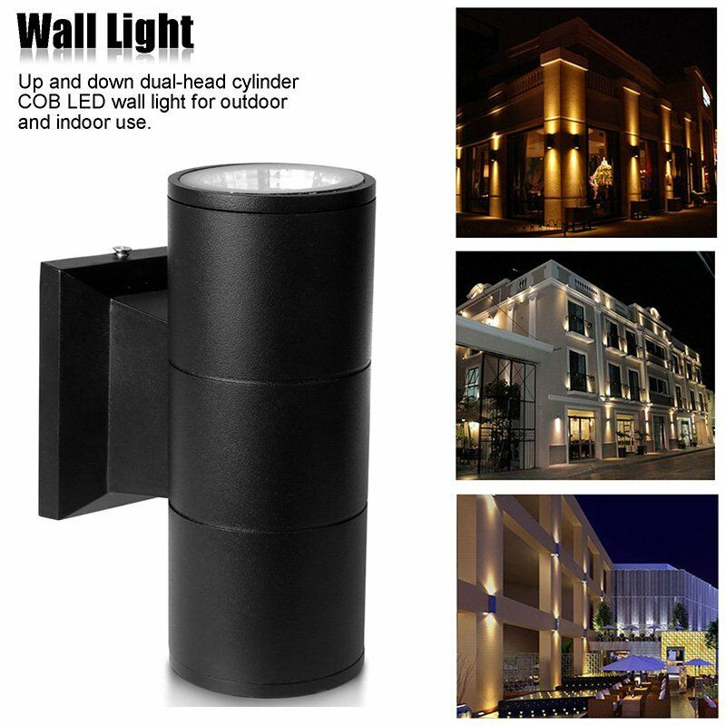Up Down 6w 10w Cob Led Wall Light Outdoor Sconce Porch