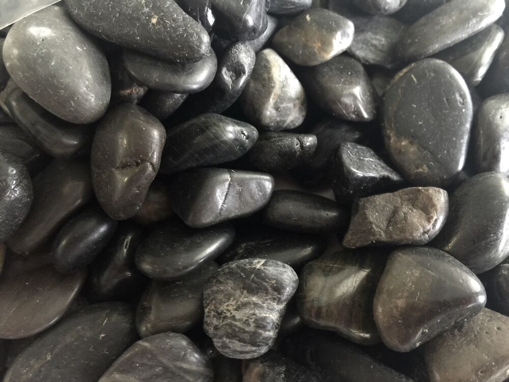 Large Aquarium Stones : Lb decorative polished pebbles river rocks aquarium