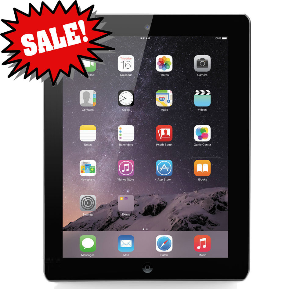 GIFT~ BLOWOUT SALE Apple iPad 4th Generation - Black ...