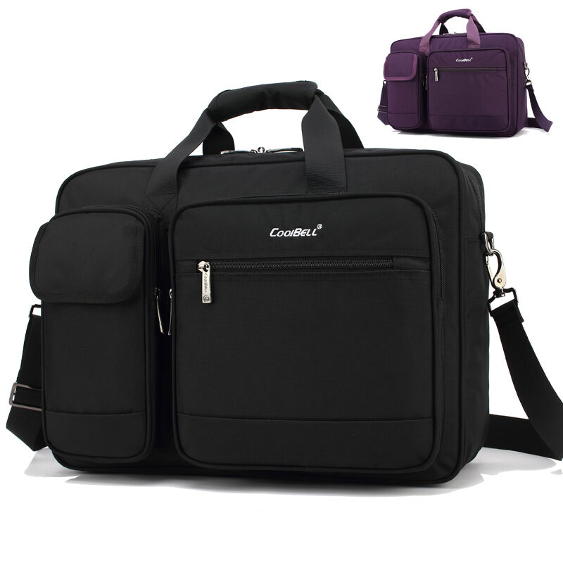 17 3 Inch Laptop Bag 17 Shoulder Messenger Notebook Computer Business Briefcase Ebay