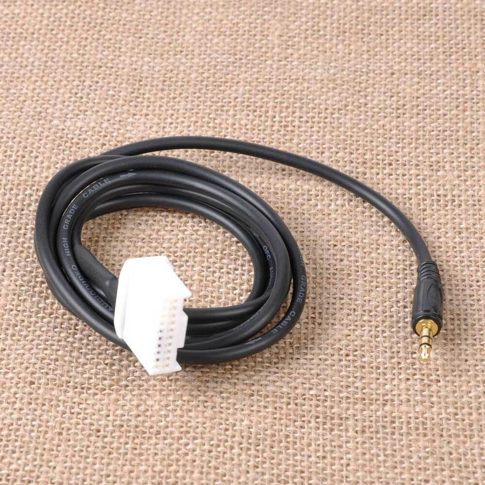 3 5mm aux audio radio input adapter cable for toyota camry. Black Bedroom Furniture Sets. Home Design Ideas