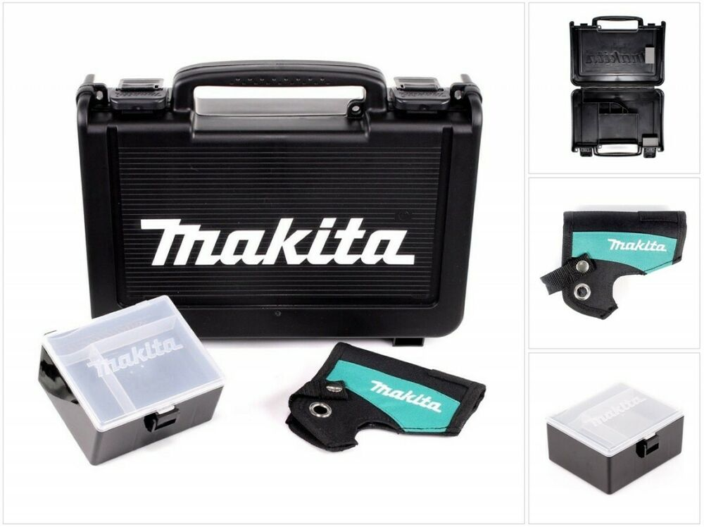 makita transport werkzeug kunststoff koffer schwarz box holster df 330 td090 ebay. Black Bedroom Furniture Sets. Home Design Ideas