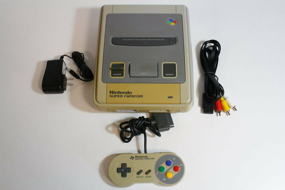 Super famicom console bundle sfc nintendo snes japan - How much is a super nintendo console worth ...