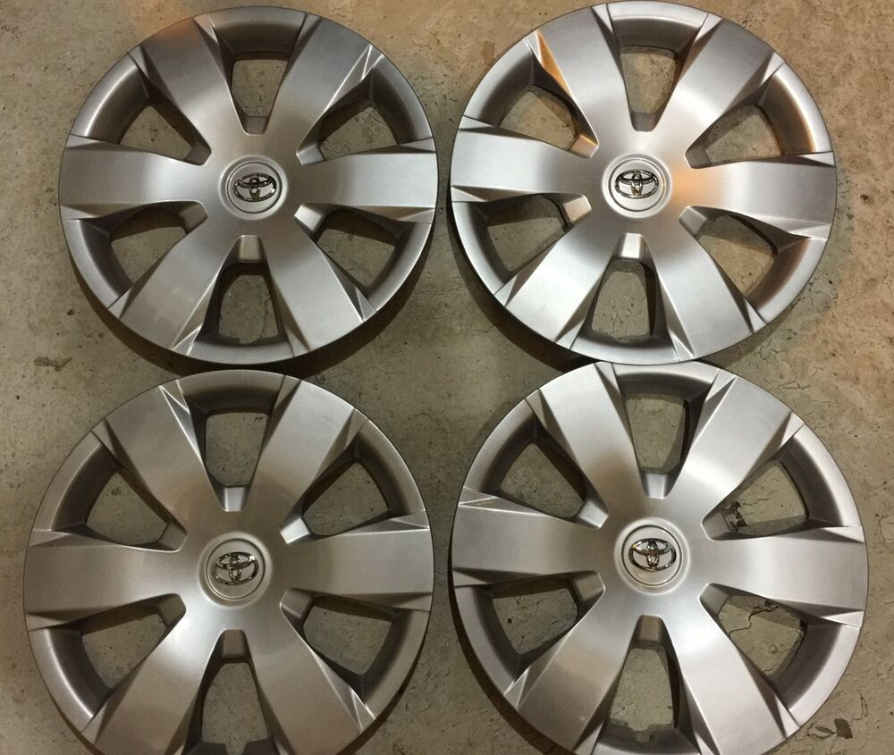 Set Of 4 61137 Toyota Camry Hubcaps Wheelcover 16 Quot Inch