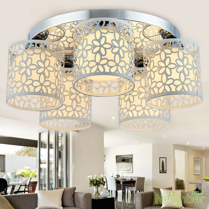Kitchen Lighting Ebay: New Modern LED Ceiling Lamp Chandelier Pendant Light