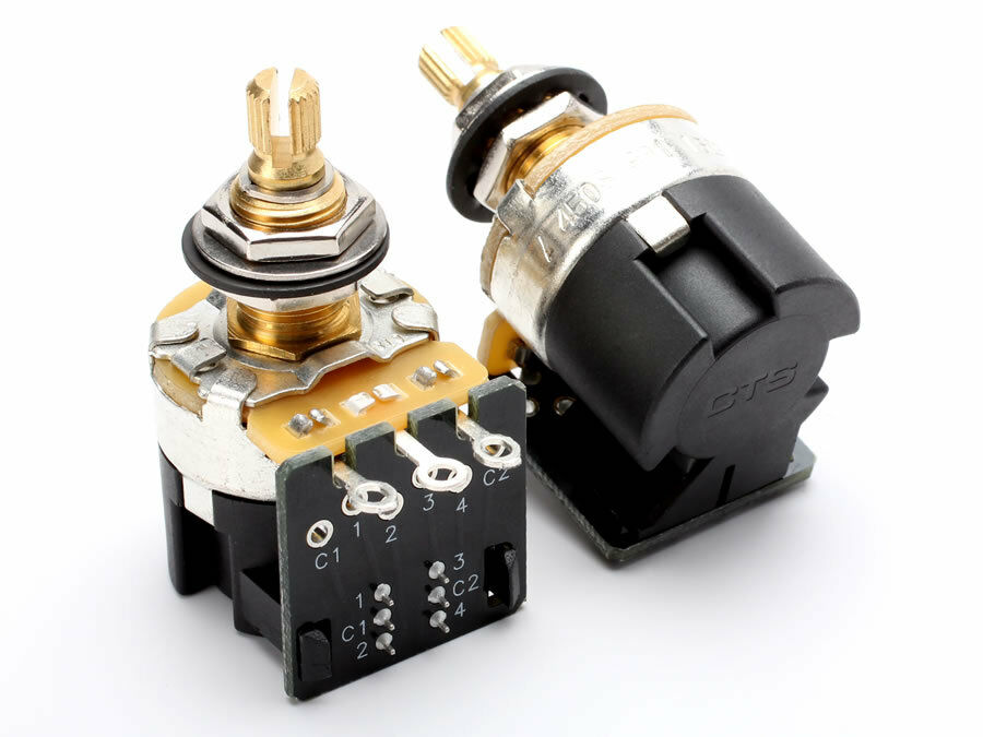 Cts Pot  500k Audio Push  Pull  Dpdt   Low Torque   500