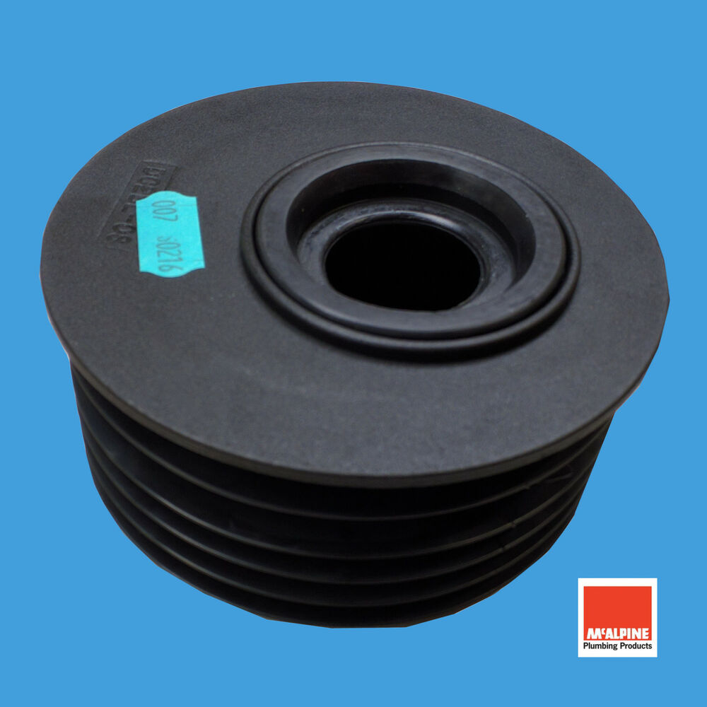 Mcalpine drain soil pipe reducer mm quot to