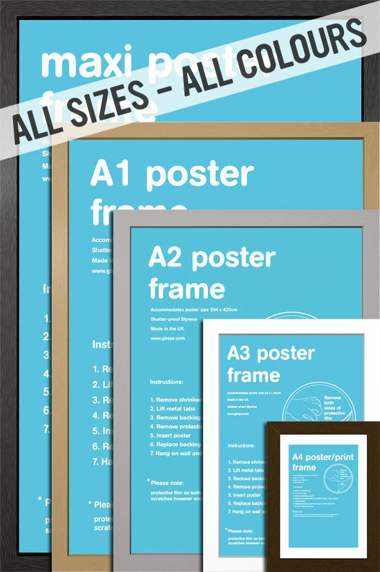 Michaels Poster Frame Sizes