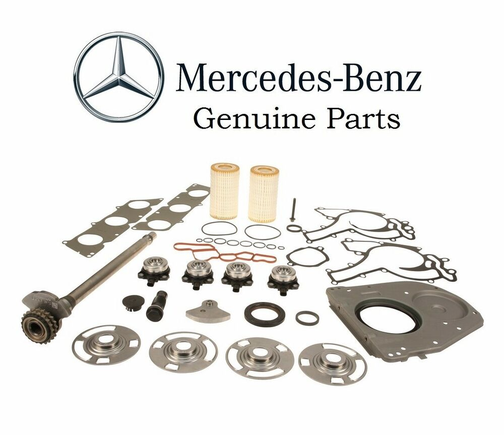 Genuine engine balance shaft kit 2720300613 mercedes benz for Mercedes benz r350 accessories