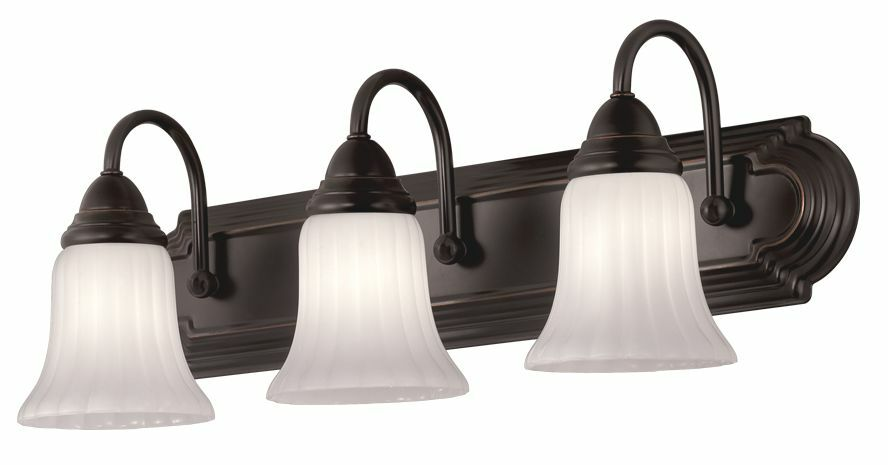 Bathroom Vanity 3 Light Portfolio Oil Rubbed Bronze