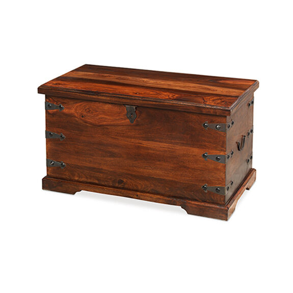 Jali sheesham thakat coffee trunk box table living solid wood indian furniture ebay Indian trunk coffee table