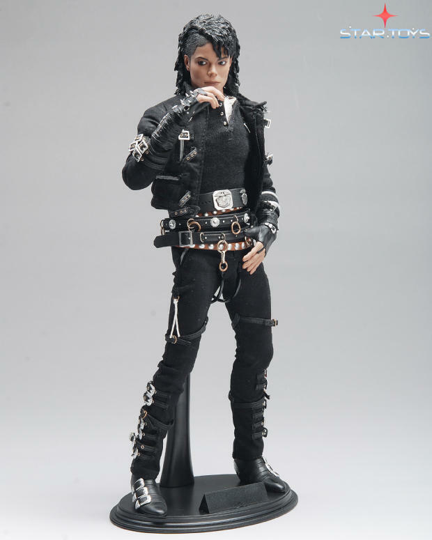 Toys For Poor : Star toys scale michael jackson bad collectible figure